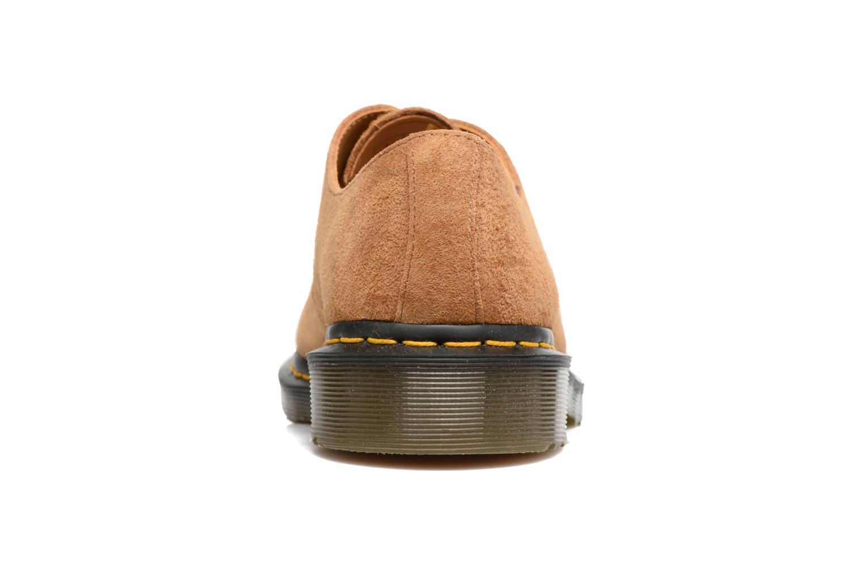 Zapatos con cordones DR. Martens 1461 Marrón vista lateral derecha