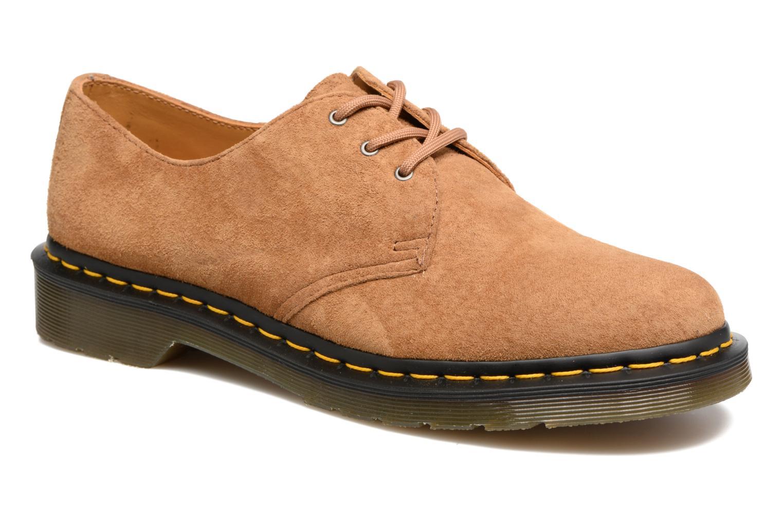 Zapatos con cordones DR. Martens 1461 Marrón vista de detalle / par