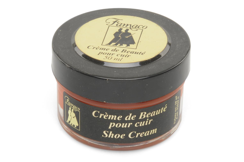 Produits d'entretien Famaco Cirage crème de beauté cuir 50 Ml Orange vue haut