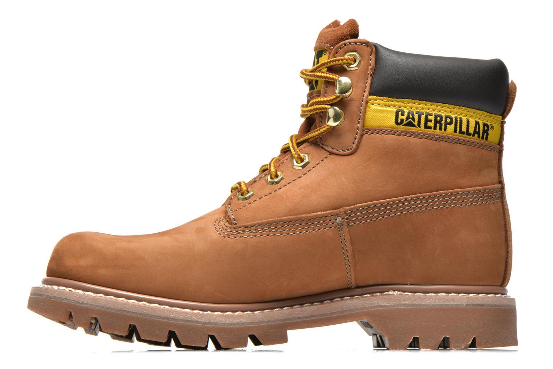 Boots en enkellaarsjes Caterpillar Colorado Beige voorkant