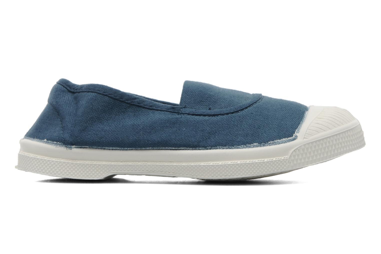 Ballet pumps Bensimon Tennis Elastique E Blue back view