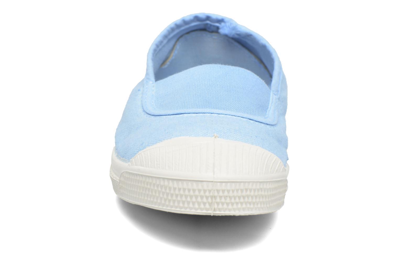 Bailarinas Bensimon Tennis Elastique E Azul vista del modelo