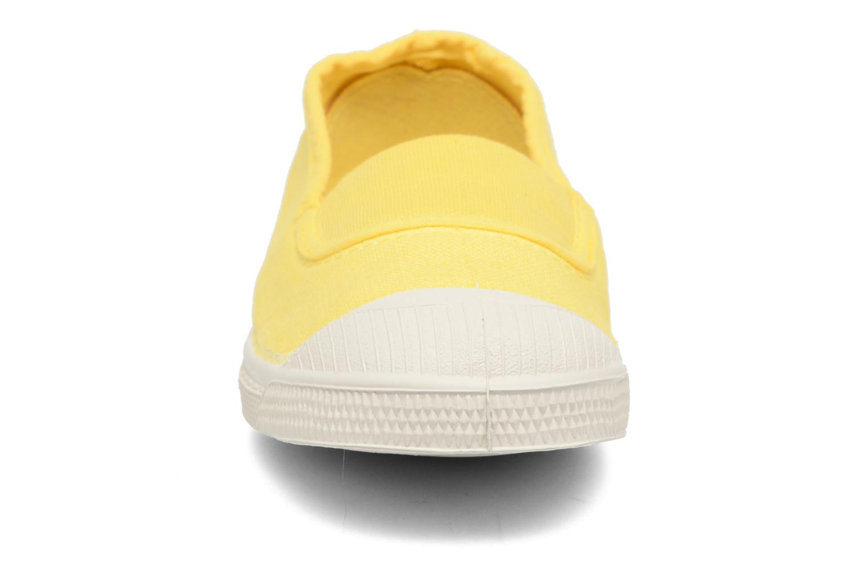 Ballet pumps Bensimon Tennis Elastique E Yellow model view