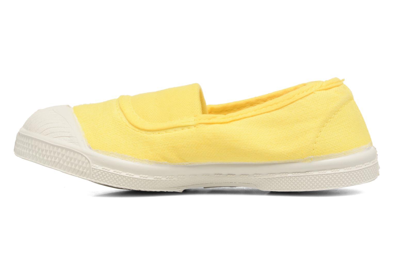 Ballerinas Bensimon Tennis Elastique E gelb ansicht von vorne