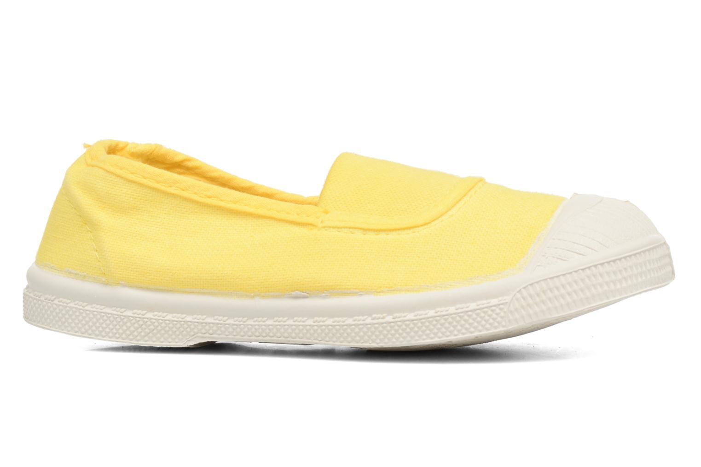 Ballet pumps Bensimon Tennis Elastique E Yellow back view
