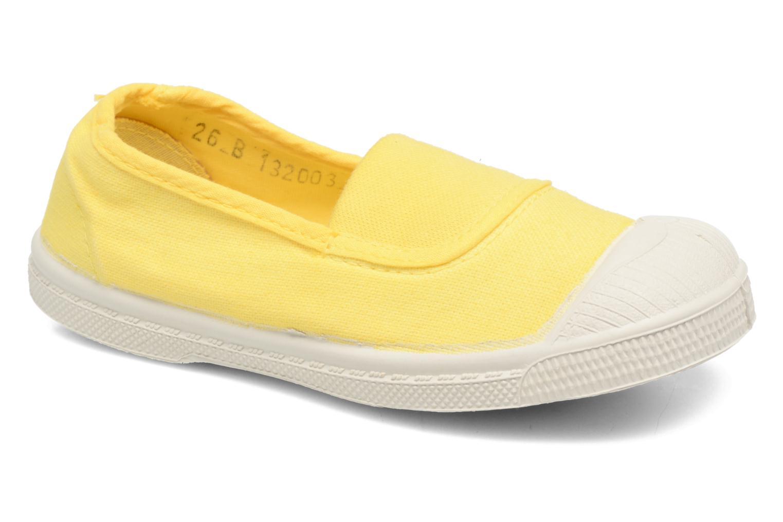 Ballet pumps Bensimon Tennis Elastique E Yellow detailed view/ Pair view