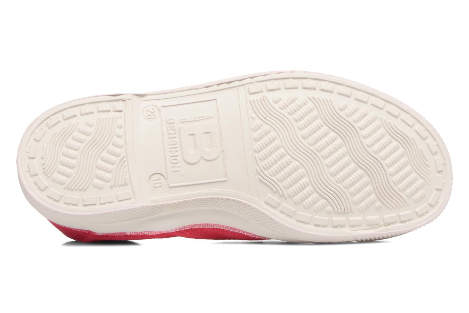 Ballet pumps Bensimon Tennis Elastique E Red view from above