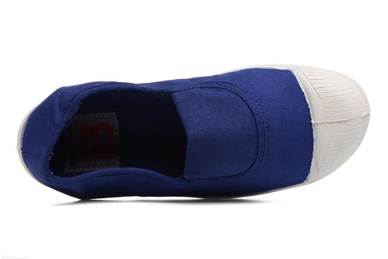 Bailarinas Bensimon Tennis Elastique E Azul vista lateral izquierda