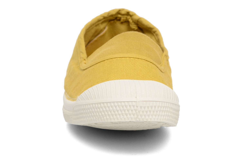 Tennis Elastique E jaune anis