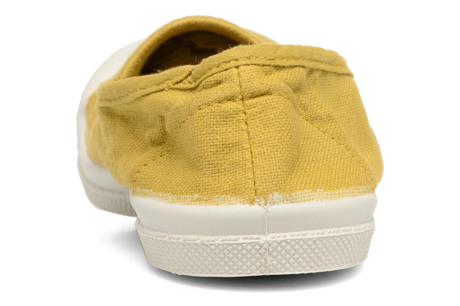 Ballet pumps Bensimon Tennis Elastique E Yellow view from the right