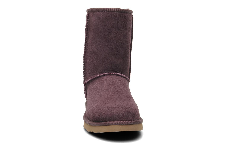 Bottines et boots UGG Classic Short Violet vue portées chaussures