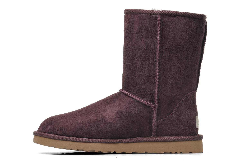Bottines et boots UGG Classic Short Violet vue face
