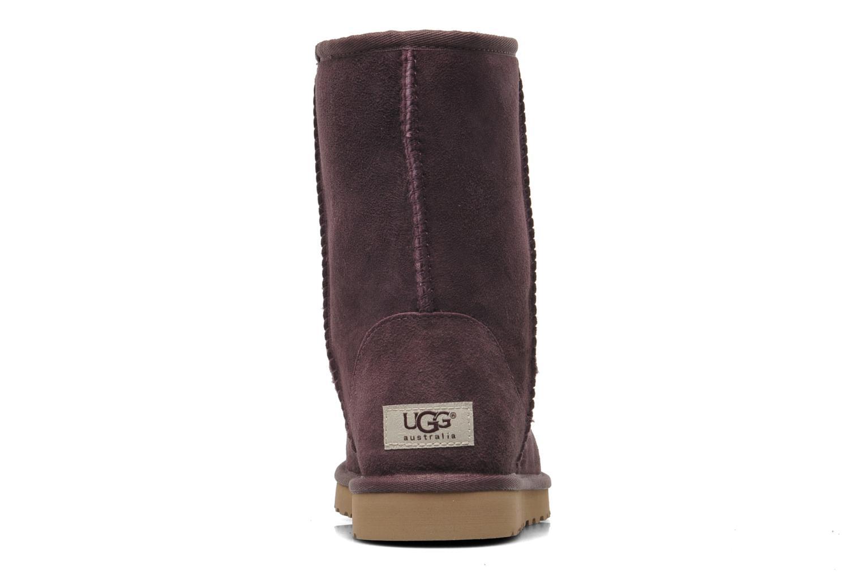 Stiefeletten & Boots UGG Classic Short lila ansicht von rechts