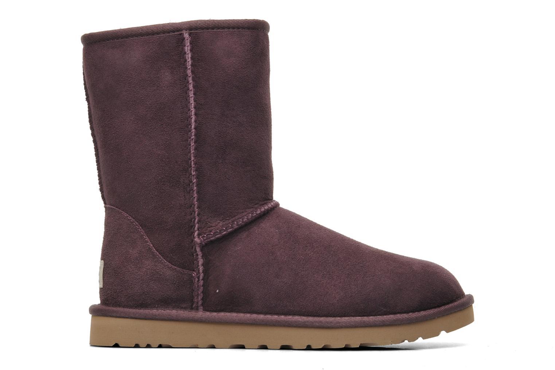 Stiefeletten & Boots UGG Classic Short lila ansicht von hinten