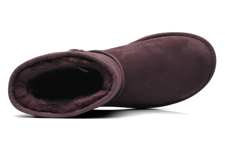 Stiefeletten & Boots UGG Classic Short lila ansicht von links