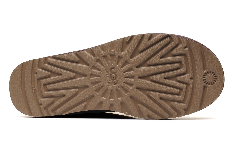 Bottines et boots UGG Classic Short Violet vue haut