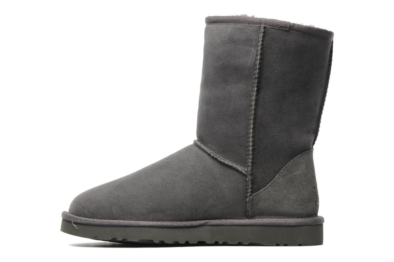 Bottines et boots UGG Classic Short Gris vue face