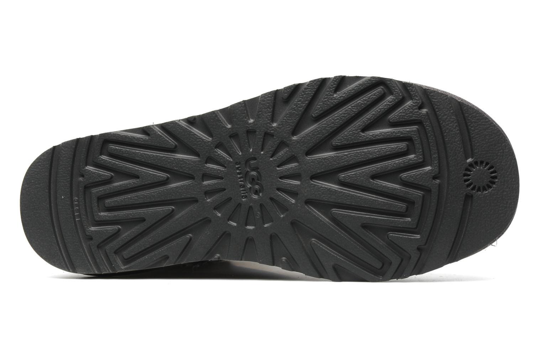 Bottines et boots UGG Classic Short Gris vue haut