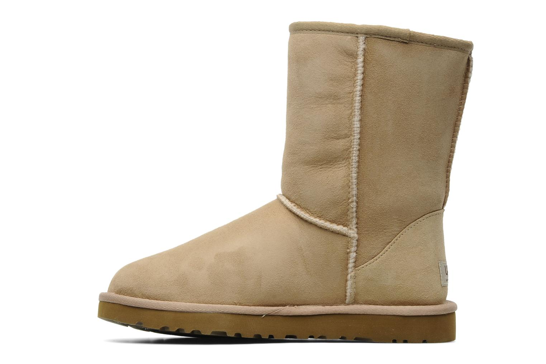 Bottines et boots UGG Classic Short Beige vue face
