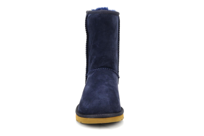 Stiefeletten & Boots UGG Classic Short blau schuhe getragen