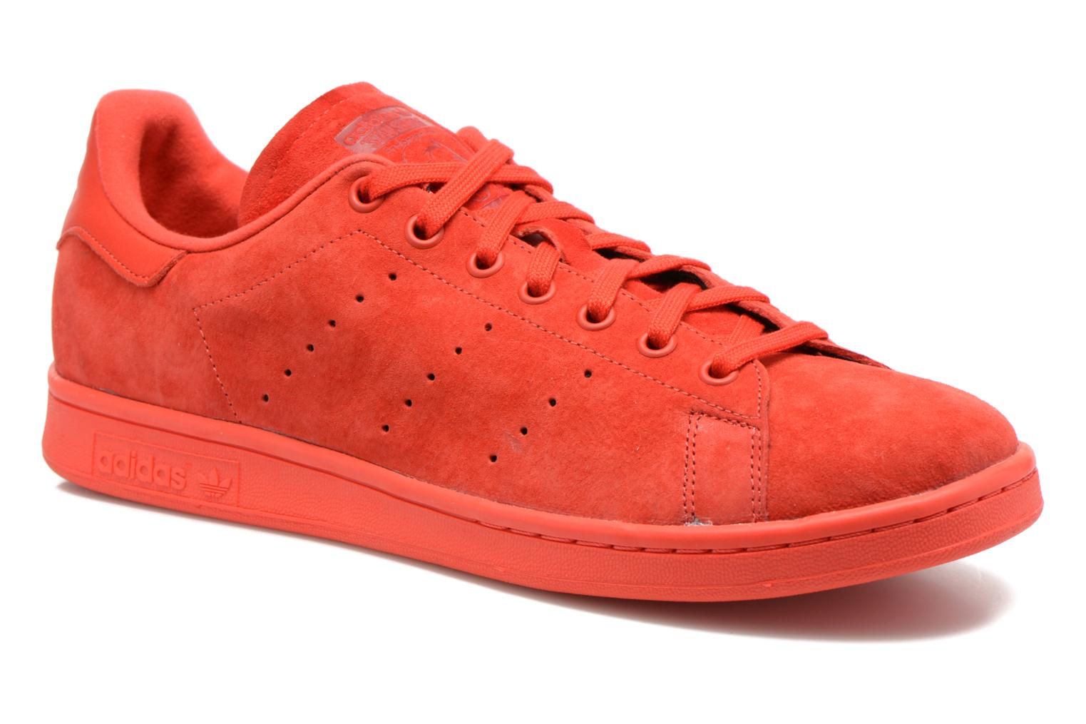 Sneakers Adidas Originals Stan Smith Rood detail