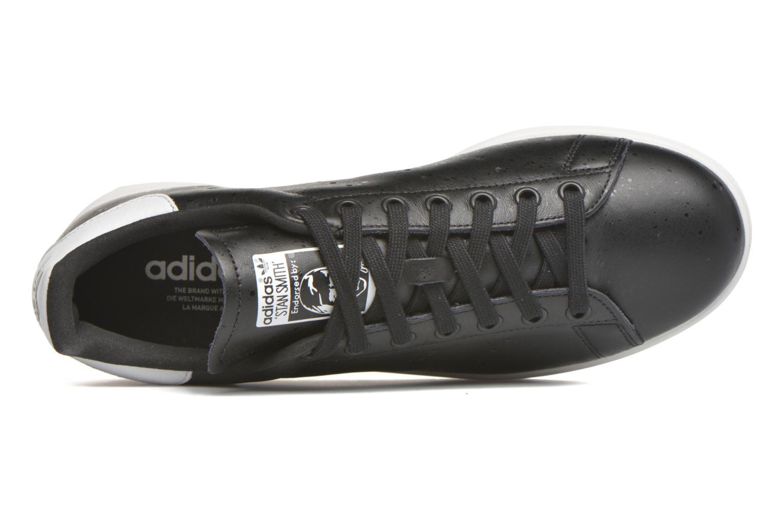 Baskets Adidas Originals Stan Smith Noir vue gauche