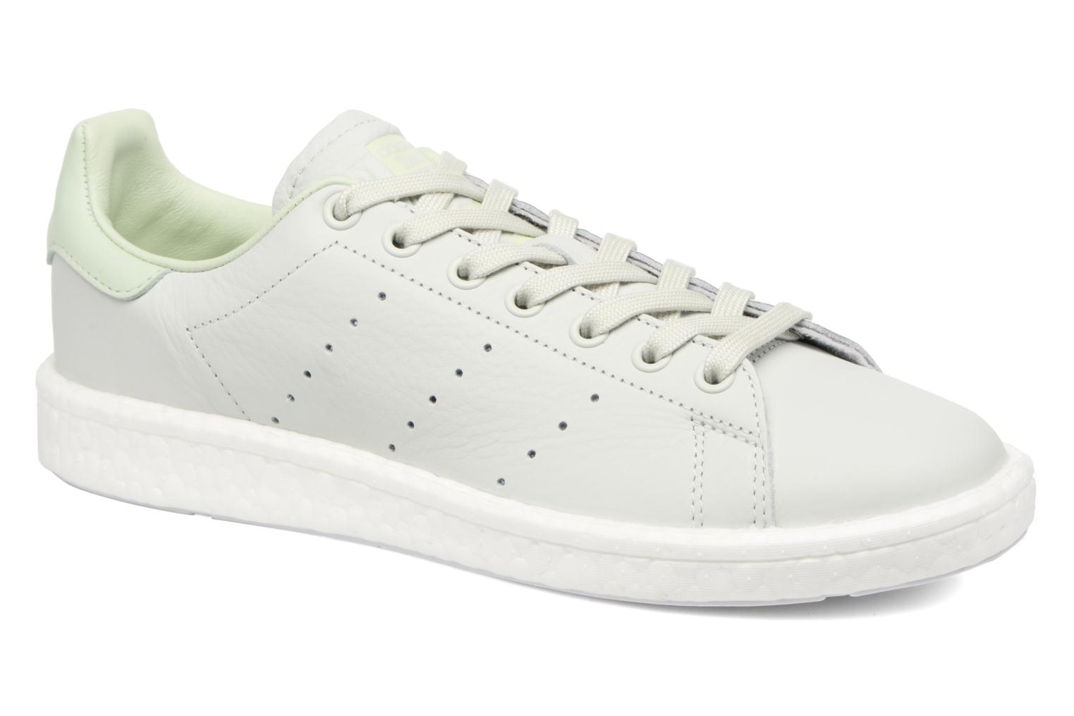 Trainers Adidas Originals Stan Smith Green detailed view/ Pair view