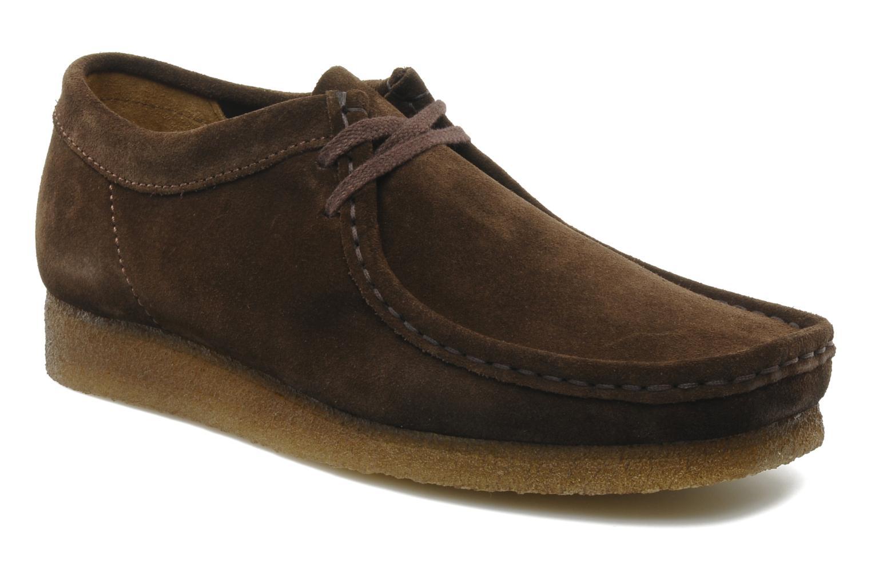 Marques Chaussure homme Clarks Originals homme Wallabee M Indigo Suede