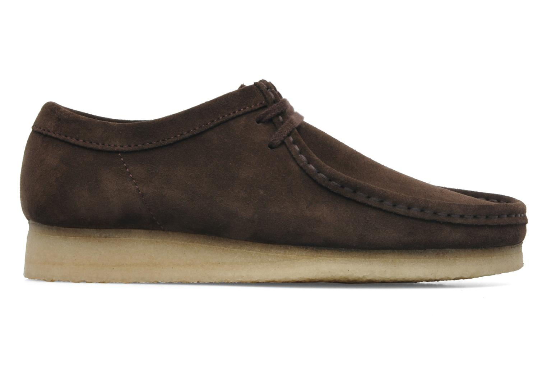 Chaussures à lacets Clarks Originals Wallabee M Marron vue derrière