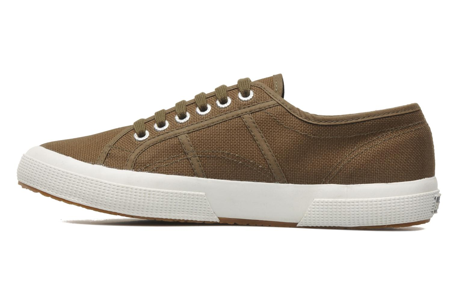 Trainers Superga 2750 Cotu M Green front view