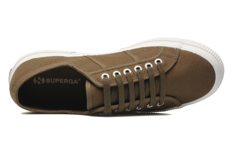 Sneaker Superga 2750 Cotu M grün ansicht von links