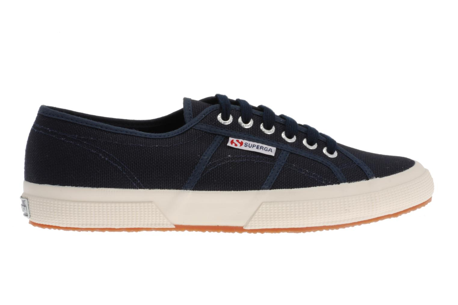 Trainers Superga 2750 Cotu M Blue back view