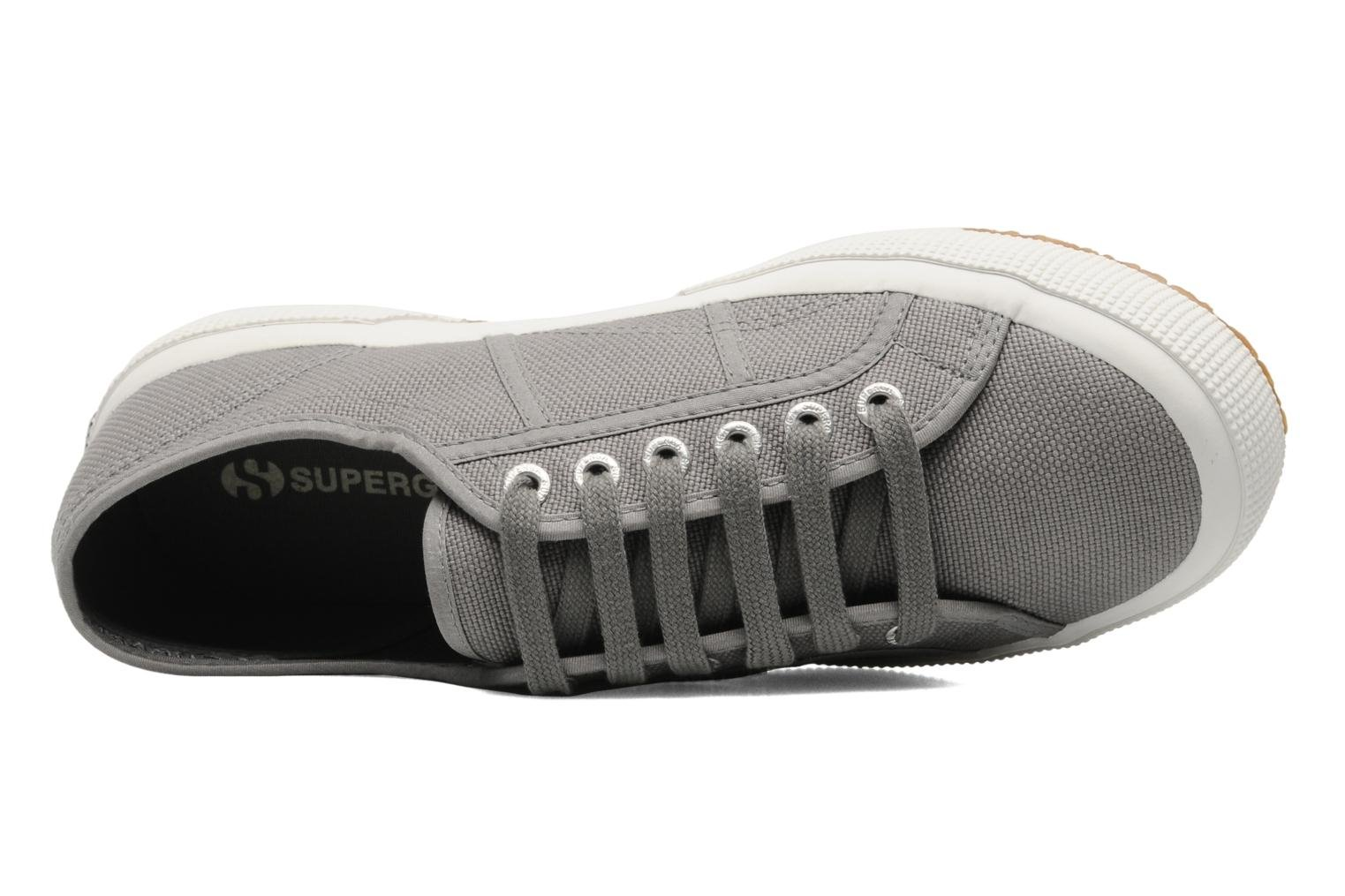 Trainers Superga 2750 Cotu M Grey view from the left