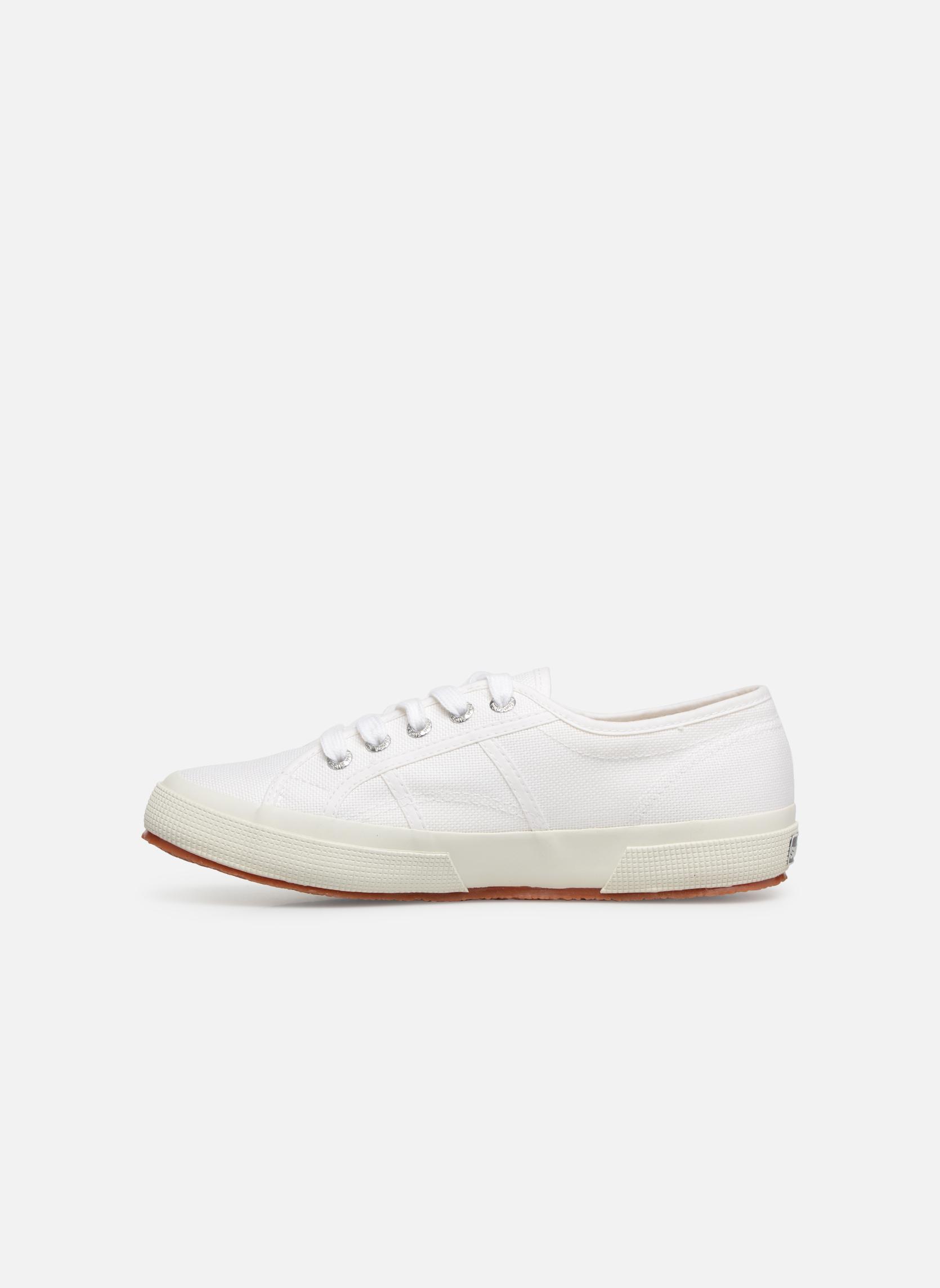 Sneakers Superga 2750 Cotu W Bianco immagine frontale