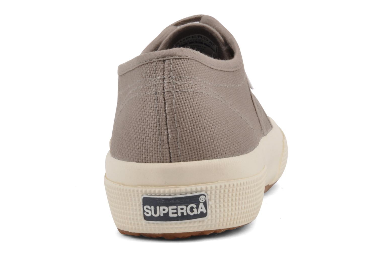 Sneaker Superga 2750 Cotu W braun ansicht von rechts