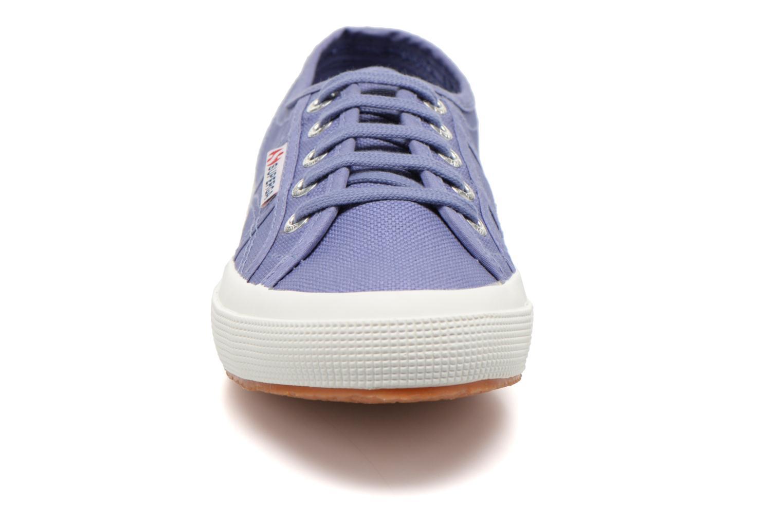 Baskets Superga 2750 Cotu W Violet vue portées chaussures