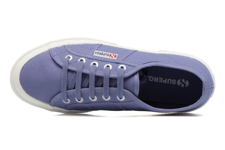 Sneaker Superga 2750 Cotu W lila ansicht von links