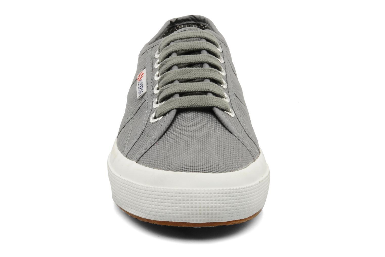 Sneaker Superga 2750 Cotu W grau schuhe getragen