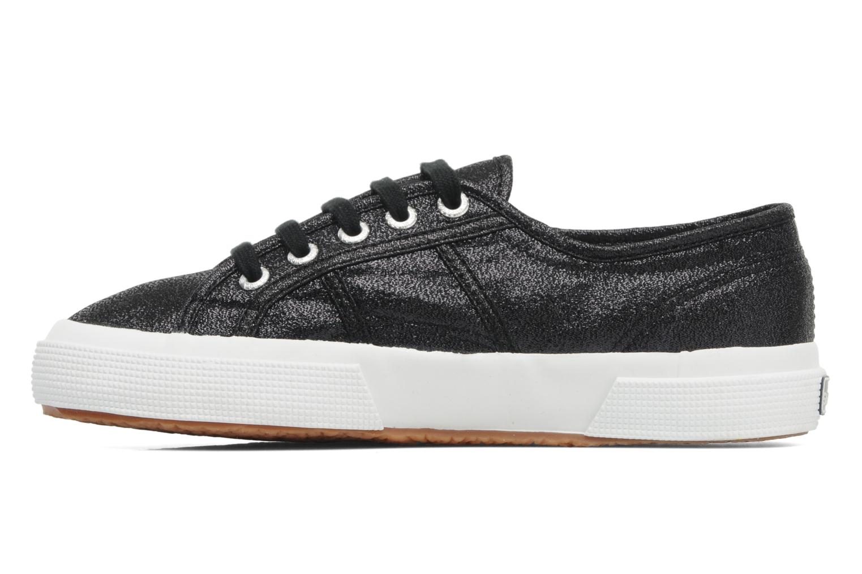 Sneakers Superga 2750 Lame W Zwart voorkant
