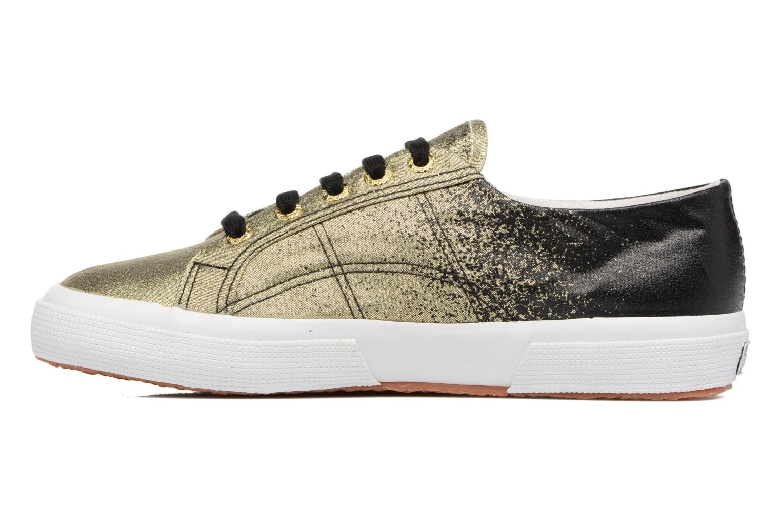 Sneakers Superga 2750 Lame W Nero immagine frontale