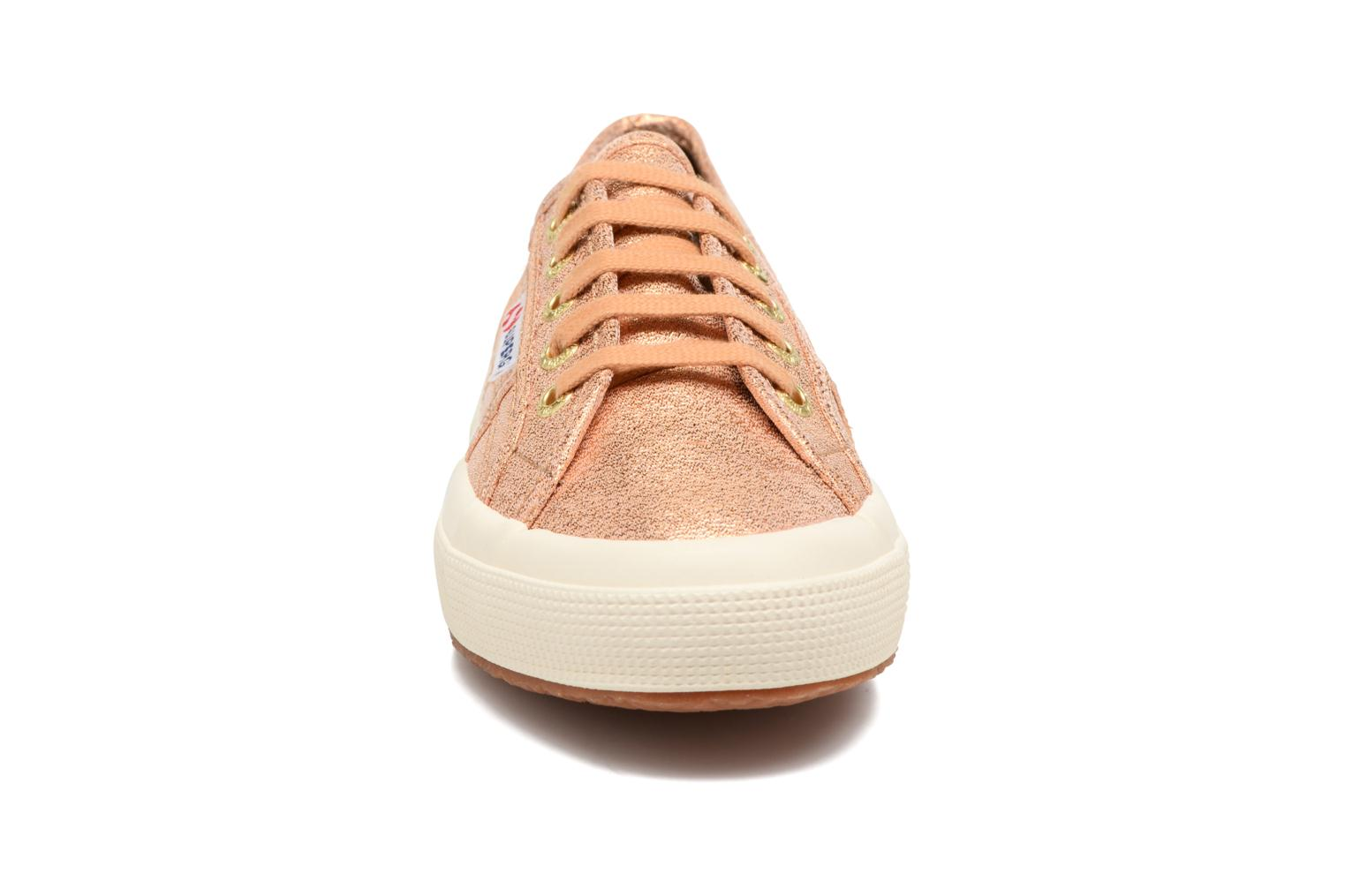 Trainers Superga 2750 Lame W Bronze and Gold model view