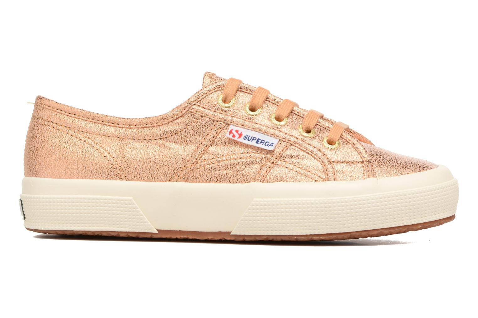 Trainers Superga 2750 Lame W Bronze and Gold back view