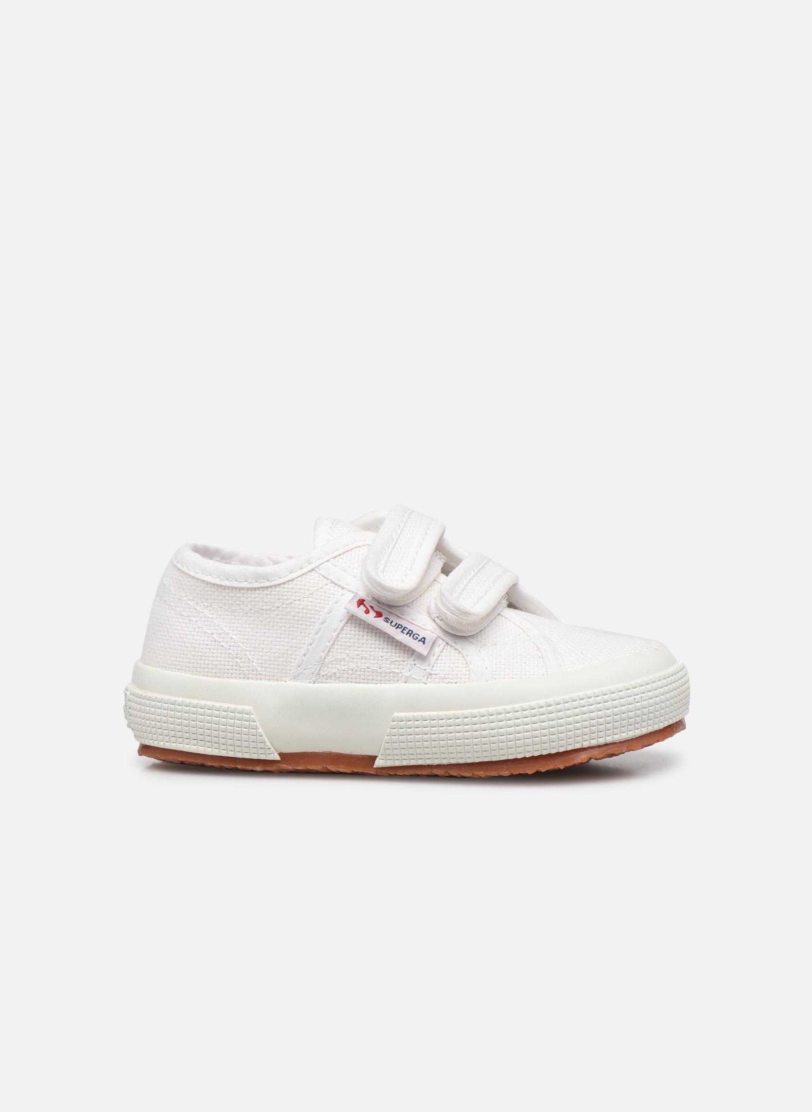 Sneakers Superga 2750 J Velcro E Wit achterkant