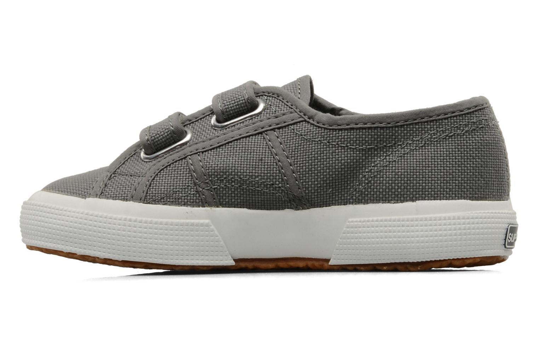Sneakers Superga 2750 J Velcro E Grijs voorkant