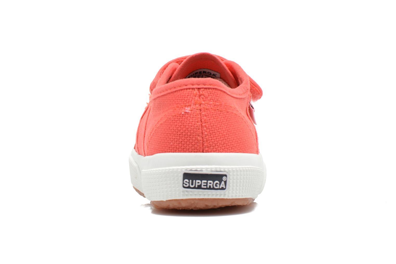 Sneakers Superga 2750 J Velcro E Roze rechts