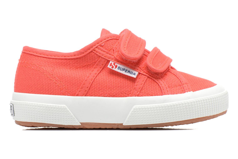 Sneakers Superga 2750 J Velcro E Roze achterkant