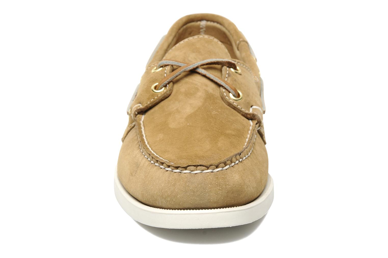 Schnürschuhe Sebago Docksides M beige schuhe getragen