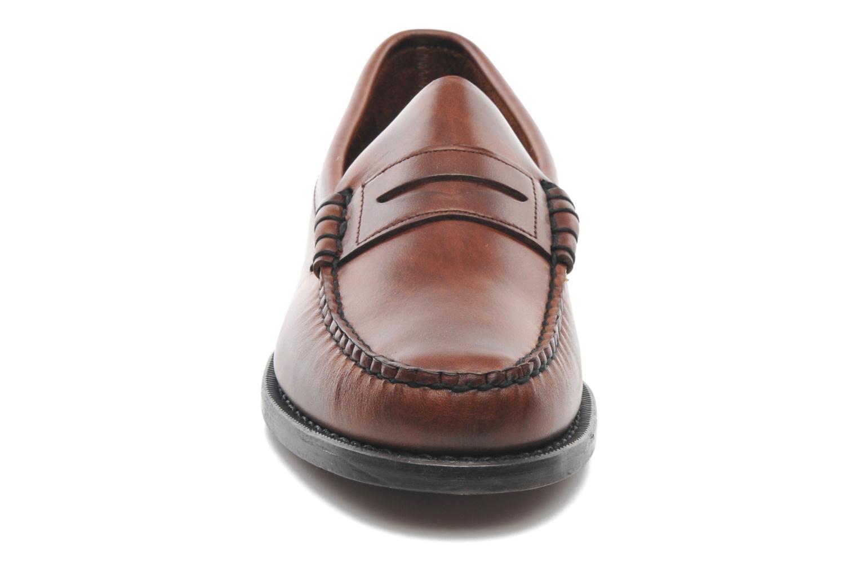 Mocassins Sebago Classic Marron vue portées chaussures