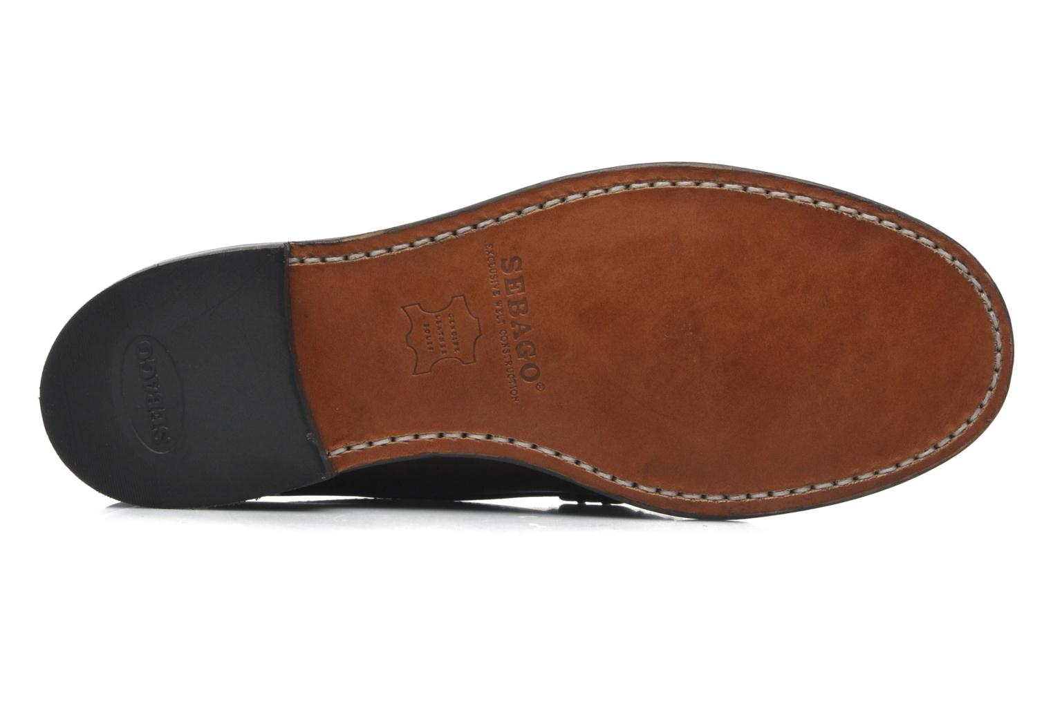 Loafers Sebago Classic Brown view from above