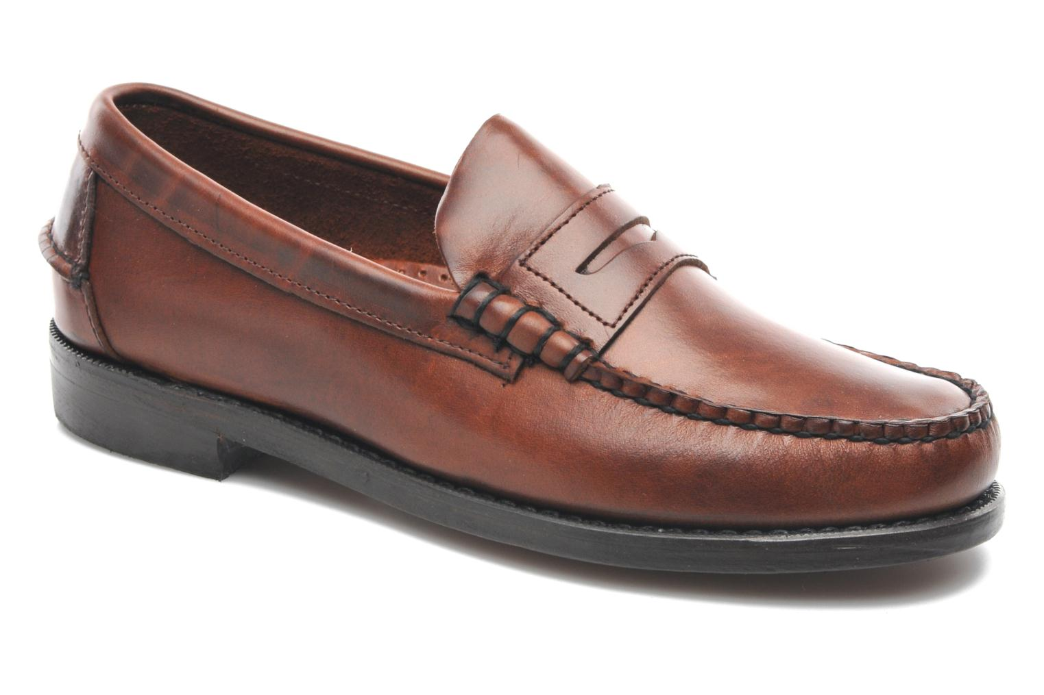 Loafers Sebago Classic Brown detailed view/ Pair view